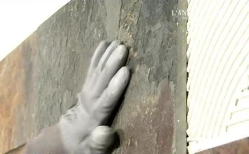 Процедура укладки натурального камня