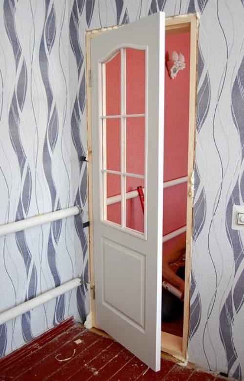 Правильная установка межкомнатной двери