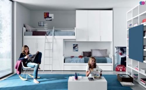 Комната для двоих девочек подростков