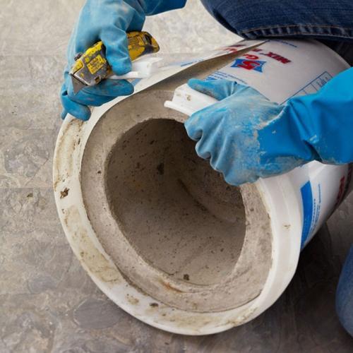 Как сделать кашпо из бетона своими руками