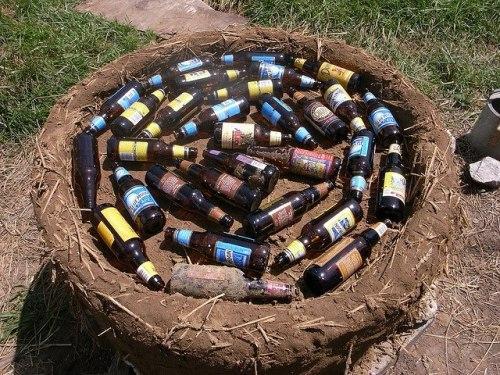 Бутылки для теплоизоляции