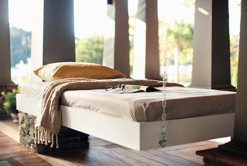 Как сделать подвесную кровать?