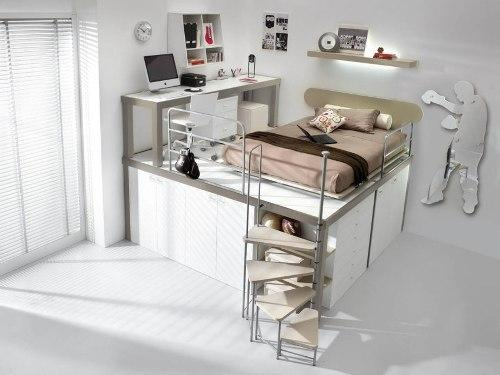 Кровать на возвышении