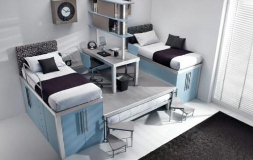 Чердачная детская кровать