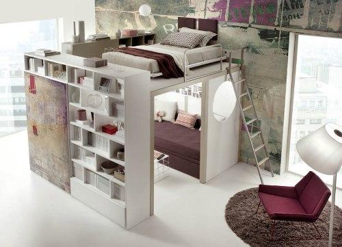 Лофт кровать для ребенка