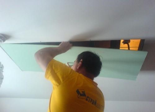 Ремонт гипсокартонного потолка своими руками