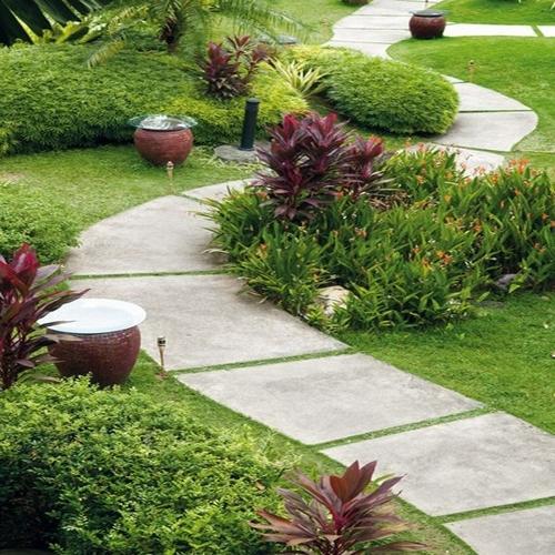 Какие бывают садовые дорожки