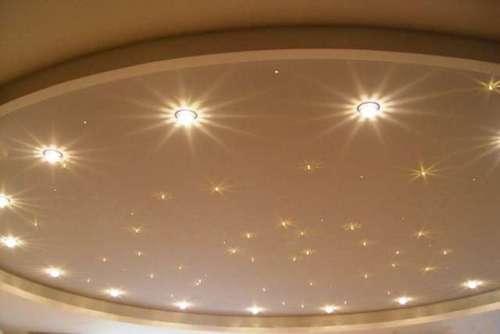 Расчет мощности встраиваемых светильников