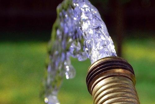 Удаление воды из водопровода