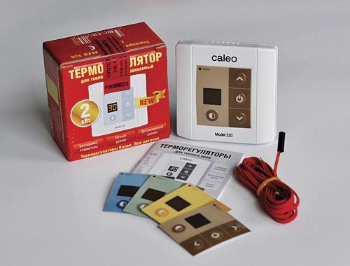 Терморегулятор и термодатчик для теплого пола