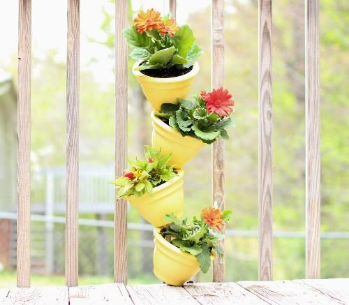 Вертикальный сад на балконе своими руками