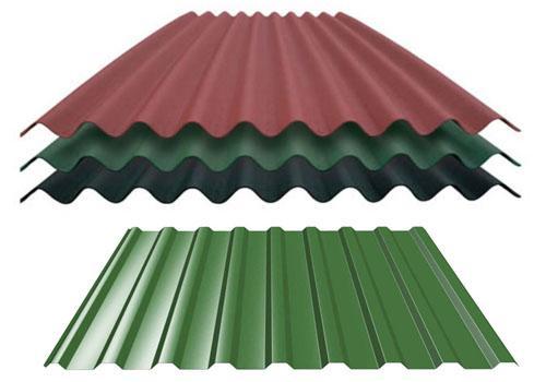 Что лучше ондулин или профнастил для кровли крыши?