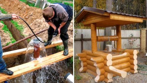 Что лучше скважина или колодец для водоснабжения загородного дома?