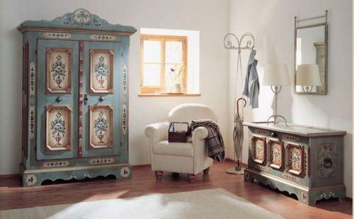Декорирование мебели в стиле винтаж своими руками. Делаем оригинальную мебель