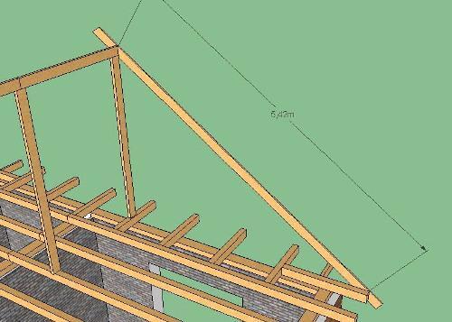 Как сделать двускатную крышу своими руками?