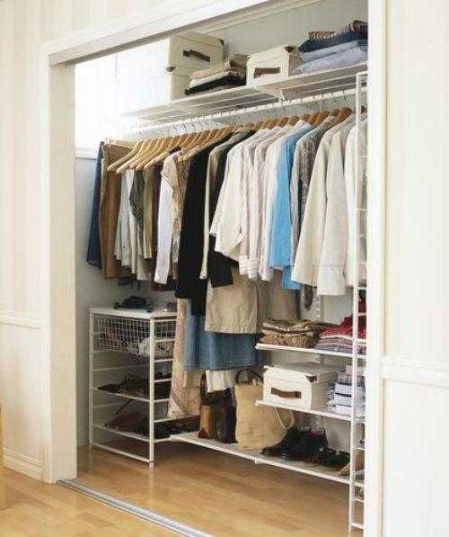 Идеи дизайна гардеробной комнаты. Фото
