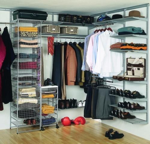 Дизайна гардеробной комнаты