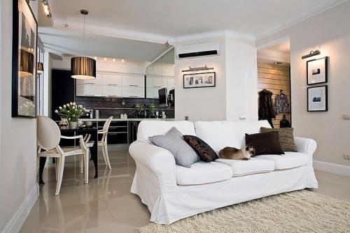Уместен ли декор в интерьере небольшой квартиры?