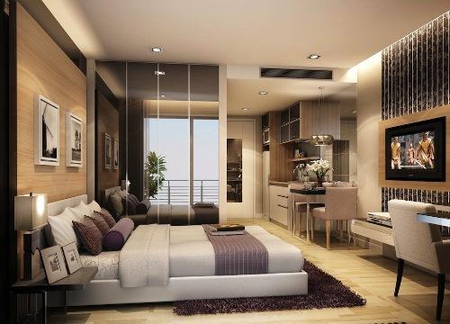 Интерьер квартиры студии 25 м2. Как организовать пространство небольшой квартиры?