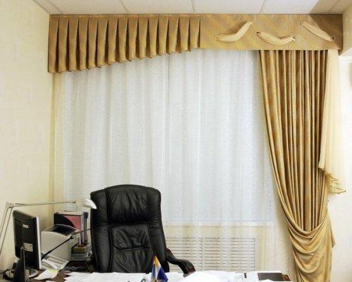 Выбор штор для офиса