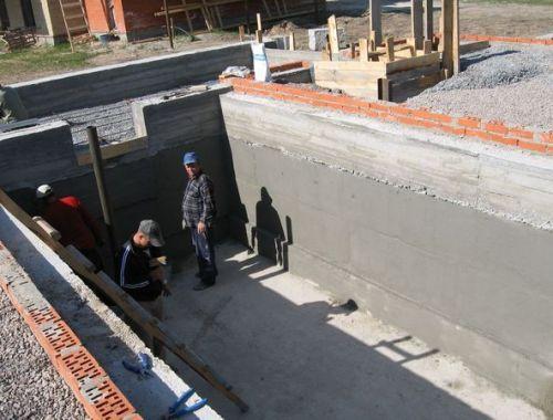 Как построить подвал с низким уровнем залегания грунтовых вод?
