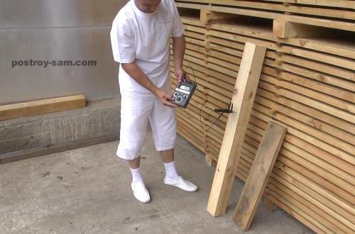 Проверка влажности древесины