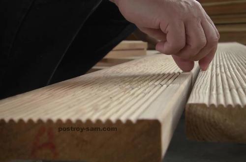 Доска лиственницы для наружной отделки