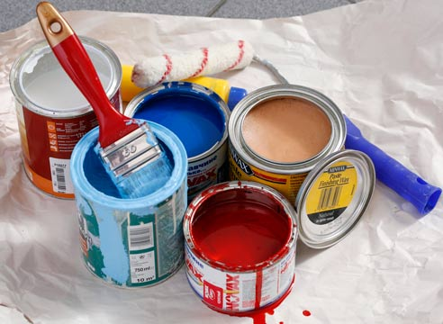 Краска для отделки фасада деревянного дома
