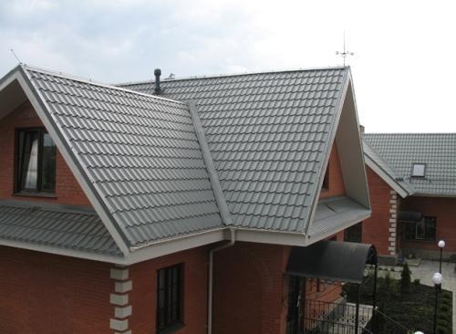 Кровля крыши: цена за квадратный метр