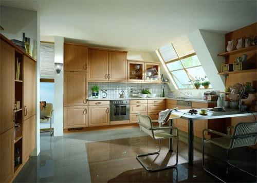 Уютная кухня-студия
