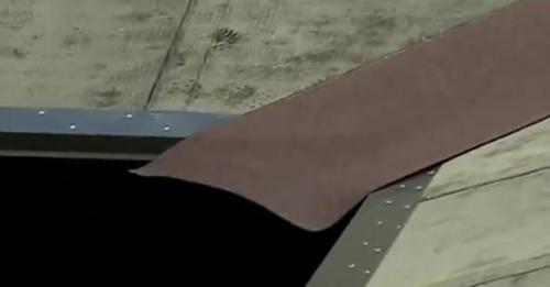 Укладка ендового ковра