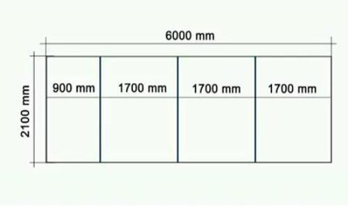 Разметка листа поликарбоната