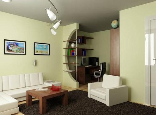 Функциональные зоны маленькой квартиры