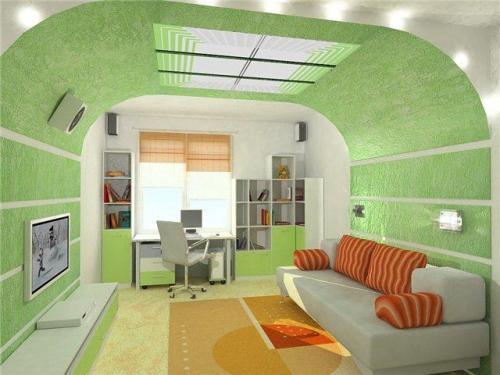 Современный интерьер комнаты ребенка