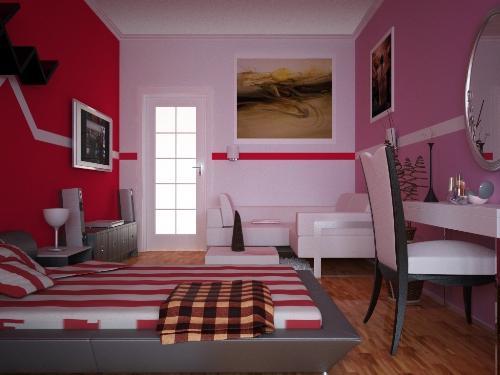 Выбор цвета для оформления подростковой комнаты