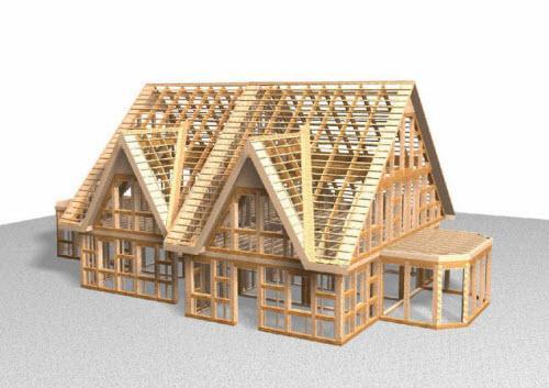 Сколько стоит построить каркасный дом под ключ?