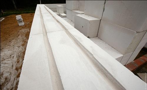 Армирование стен из газосиликата