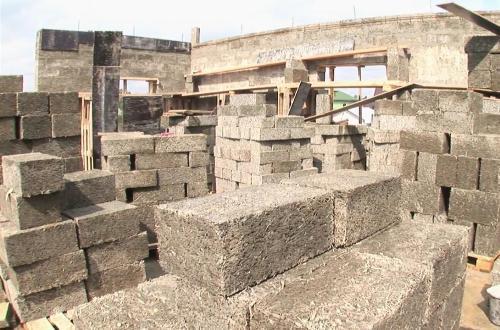 Строительные блоки из арболита. Технические характеристики и технология производства