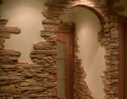 Укладка декоративного камня. Видео
