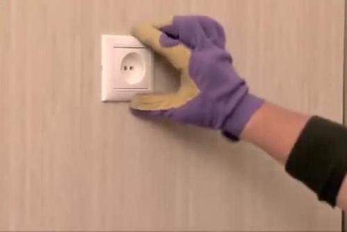Установка розетки в стеновой панели ПВХ