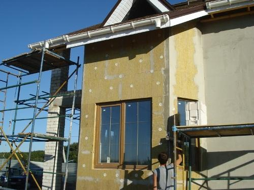 Технология утепления дома минеральной ватой