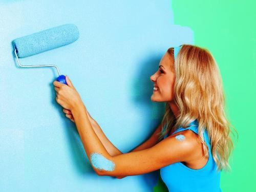 Как правильно наносить акриловую краску?
