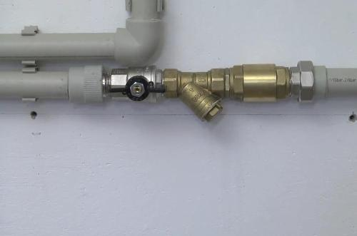 Чистка фильтра системы отопления своими руками