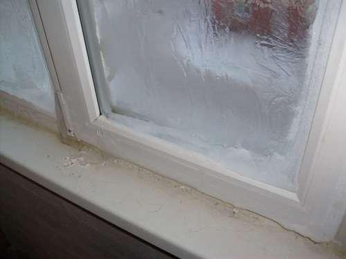Что делать, если обледенели окна