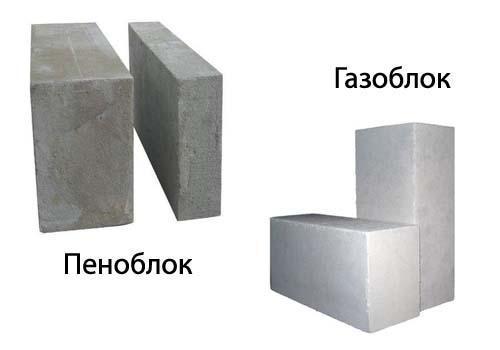 Что выбрать: пенобетон или газобетон?