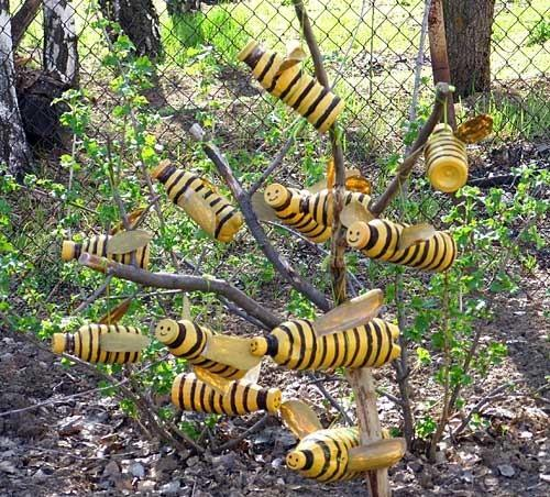 пчелы из бутылок