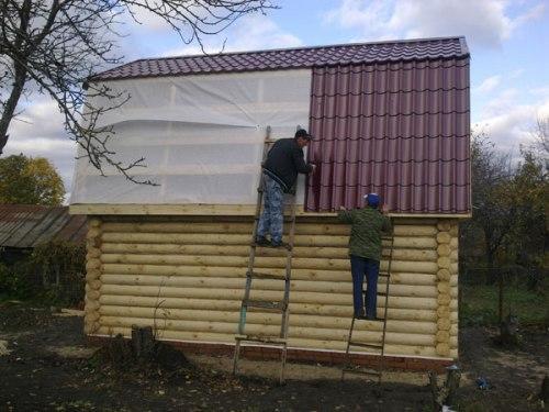 Как построить баню. Строительство бани от фундамента до крыши