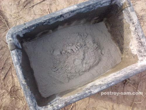 Цемент для раствора