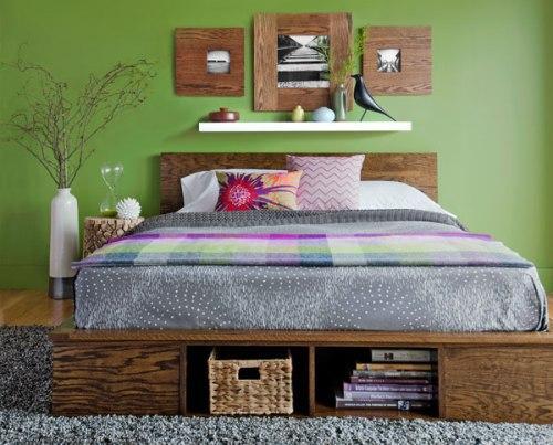 Как сделать кровать из фанеры своими руками? Чертеж. Фото. Видео