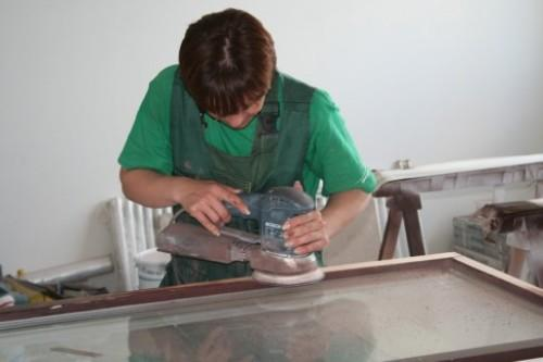 Механическая обработка: болгарка и наждачная бумага